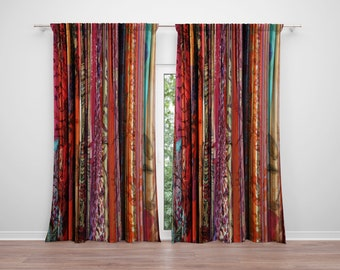 Boho Chic Window Curtains Gyspy Spirit