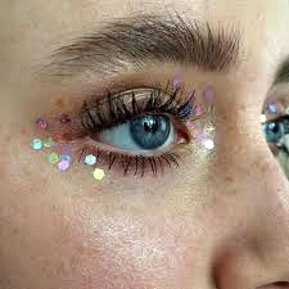 glitter face makeup festival make up cosmetic grade. Black Bedroom Furniture Sets. Home Design Ideas