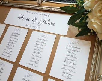 Wedding Table Plan, Seating Plan, Black White Wedding, Luxury Wedding, Wedding Decoration, Wedding Table Number, Complete Plan, Centrepiece