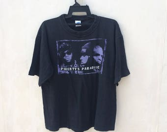 Rare Vintage Naughty By Nature Shirt / Poverty's Paradise / Hip Hop Shirt / Vintage Rap Shirt / Vintage Tour Shirt