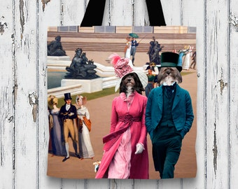 Havanese Art Tote Bag   Perfect DOG LOVER Gift for Her Gift for Him