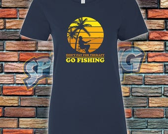 Go Fishing Ladies Tee