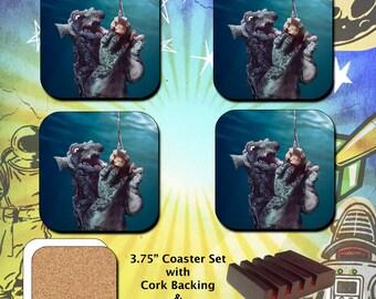Gorgo / Diving Bell / Coaster Set