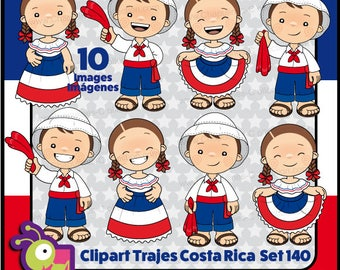 Clipart Costa Rica, PNG images Set 140