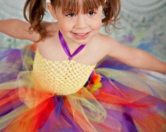tutu dress, rainbow, tutu, tulle tutu, costume, rainbow tutu, newborn tutu, girls tutu, toddler tutu, pageant tutu, tutu skirt, dance tutu