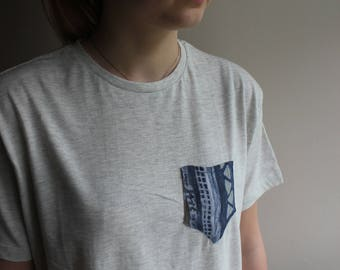 Stitched Vintage Pocket T-Shirt