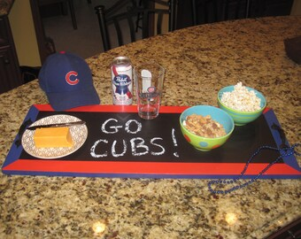 Chalkboard Serving Tray Cubs Party Decor!