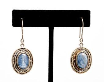 Kyanite 226 - Earrings - Sterling Silver & Kyanite