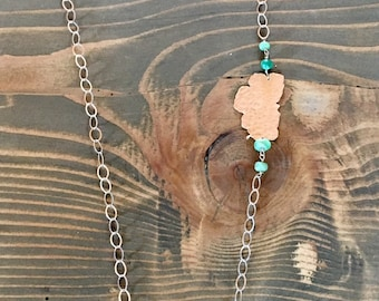 Lake Tahoe - Green Amethyst & Chrysoprase Necklace
