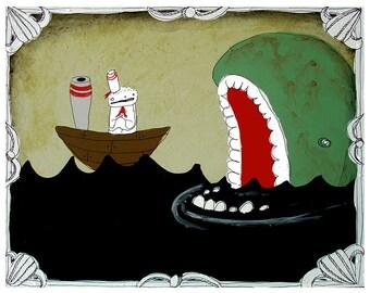 Sea Monster - PRINT