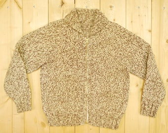 Vintage 1950's COWICHAN Sweater / Retro Collectable Rare