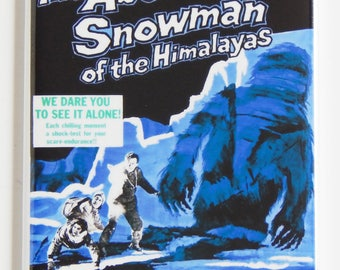 Abominable Snowman of the Himalayas Movie Poster Fridge Magnet