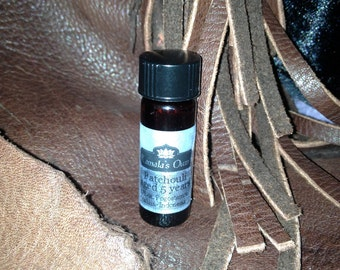 1/8 oz. Five-year-aged Patchouli oil