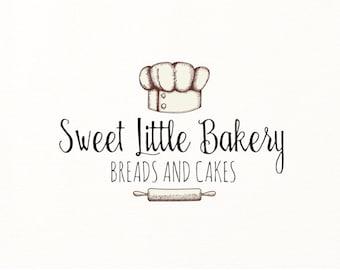bakery logo baking bake cooking hand drawn sketch - Logo Design #708