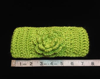 """Crochet Headband Fits Teen to Adult - Size approxiamtely 16""""-18 1/2"""""""