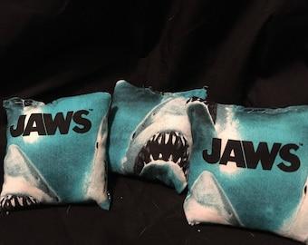 Jaws catnip toy shark