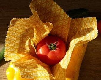 Emballage alimentaire en cire naturelle   Beeswrap   emballer bio sans aluminium, ni plastique ...nature & découverte....