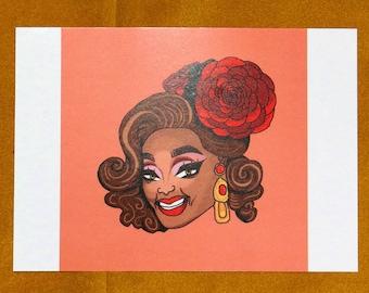 Valentina A5 Print
