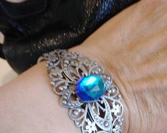 Gorgeous Blue Cuff Bracelet Buyers Choice