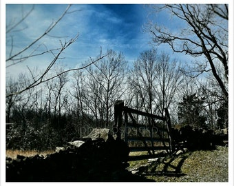 10 x 8 Kentucky Cemetery gate from the 1800s