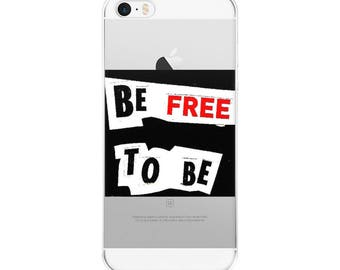 "Exclusive Original Design by Aditi-Kali=""Be Free to Be""-iPhone Case"