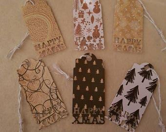 Happy Xmas Gift Tags