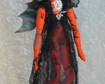 """Suanni Chinese Dragon Fairy -  18"""" Fairy Doll"""