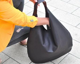 Leder Tasche, Damen Tasche, Hobo Tasche, Beutel Tasche, Einkaufstasche, Leder Tasche, Tasche, bag, braune Tasche, große Tasche, slouchy bag