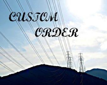 Custom Order for Kerry