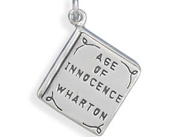 Age of Innocence Book Charm - 925 Sterling Silver