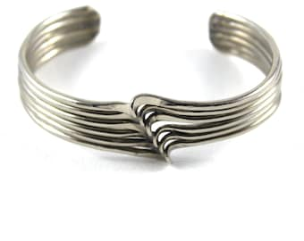 Hand Crafted Wire Cuff Bracelet - BR68