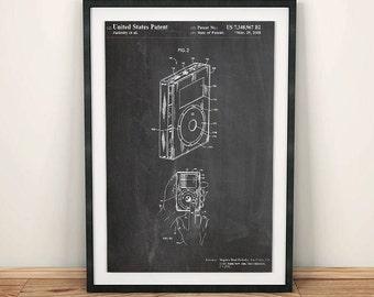 Original Apple iPod Classic Patent Art Poster