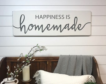 """Happiness is homemade 