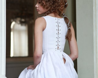 "16% DISCOUNT! Medieval Boned Corset and Skirt ""Beautiful Juliette""; ren corsage; wedding corset"