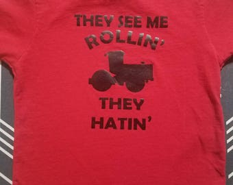Rollin' Toddler and Kids Shirt
