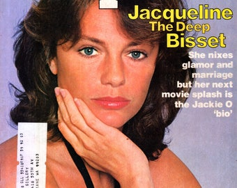 Jacqueline Bisset The Deep People Magazine August 1, 1977 Issue