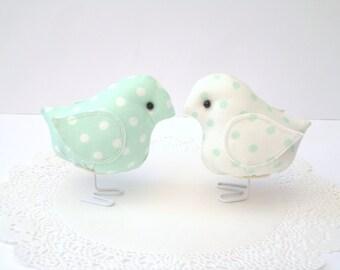 Minze, grüne Vögel