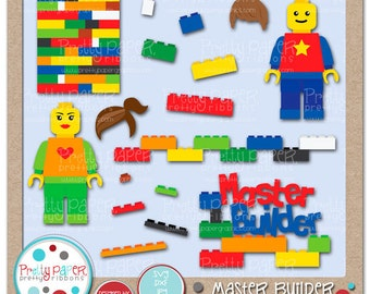 Master Builder Cutting Files & Clip Art - Instant Download