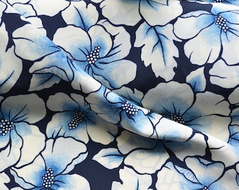 Rayon Crepe fabric 100% Viscose with a great lightweight drape.  Purchase by 1/2 meter