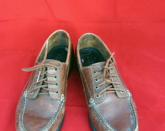 Vintage 1980s Eastland Dockers loafers 8.5 M
