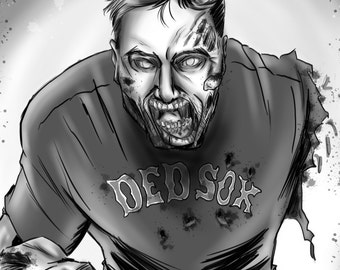 Get Sketched as a Zombie