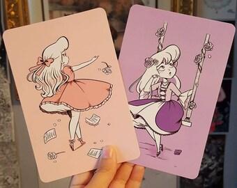 Lolita Fashion Mini Prints 4 x 6