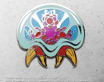 Metroid / Samus / Prime / Super Metroid / Samus Aran / SNES / Parasite / Hat Pin / Lapel Pin / Hard Enamel /  Pin / Lapel Geek Pin