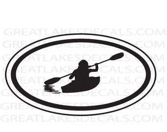 Kayak Vinyl Decal