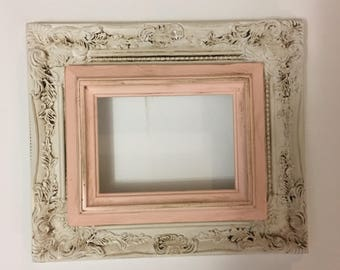 Custom hand painted picture frame