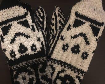 Stormtrooper mittens