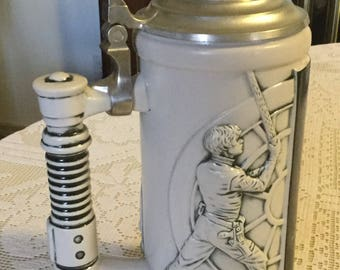 Vintage Star Wars Special Edition Ceramic Stein- 1997- New in Box, Never Used