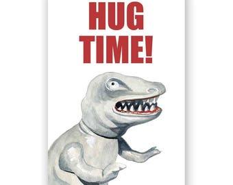 Hug Time Magnet