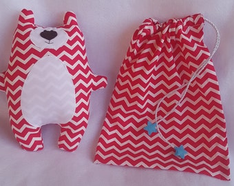 chevron,baby gift set , plushie ,stuffed toy,bear toy, soft toy , diaper bag ,kids toy ,birthday gift, baby room