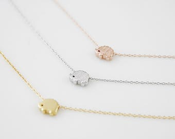 Tiny Hedgehog Necklace Dainty Hedgehog Pendant Necklace Birthday Gift